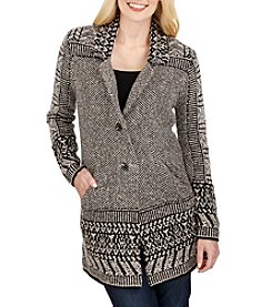 Lucky Brand® Border Cardigan