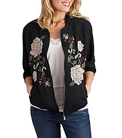 Democracy Floral Bomber Jacket
