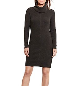 Lauren Ralph Lauren® Cotton-Blend Sweater Dress