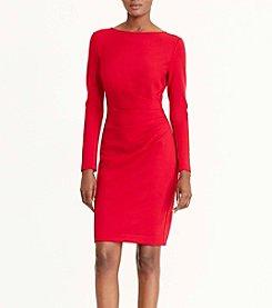 Lauren Ralph Lauren® Long Sleeve Sheath Dress
