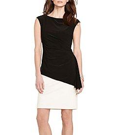 Lauren Ralph Lauren® Asymmetrical Overlay Dress