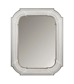 Sheffield Home® White Sculpted Mirror