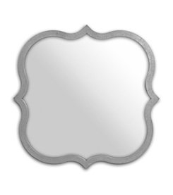 Sheffield Home® Sculpted Mirror Galvanized Tone