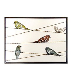 New View Birds On Wire Wall Decor