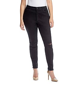 Jessica Simpson Plus Size Curvy High Rise Skinny Jeans