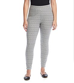 Ruff Hewn GREY Plus Size Herringbone Leggings