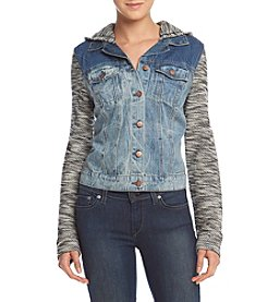 Jessica Simpson Hooded Pixie Denim Jacket