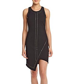 XOXO® Asymmetrical Studded Dress