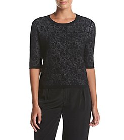 Ivanka Trump® Pattern Sweater