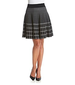 Ivanka Trump® Plaid Knit Skirt