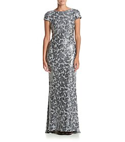 Calvin Klein Sequin Long Gown