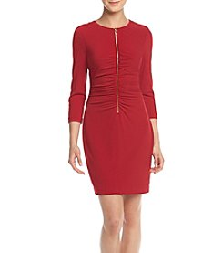 Jessica Simpson Matte Jersey Sheath Dress