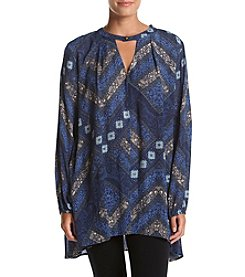 Philosophy by Republic Clothing Chevron Print Swing Tunic