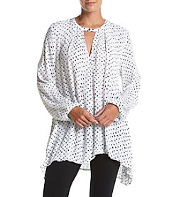 Philosophy by Republic Clothing Dot Print Swing Tunic