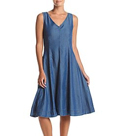 philosophy® Solid Fit And Flare Dress