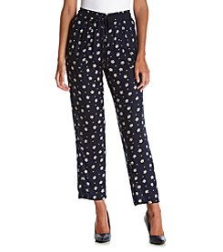 philosophy® Printed Elastic Waist Pants