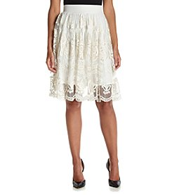 Philosophy by Republic Clothing Pull-On Lace Skirt