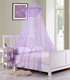 Casablanca Kids Raisinette Collapsible Hoop Sheer Bed Canopy