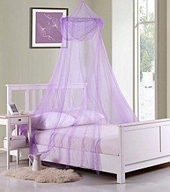 Casablanca Kids Raisinette Collapsible Hoop Sheer Bed Canopy