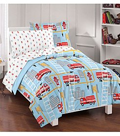Dream Factory® Fire Truck Comforter Set
