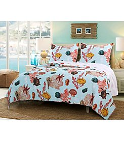 Greenland Home® Big Island Quilt Set