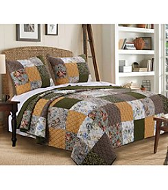 Greenland Home® Cedar Creek Quilt Set