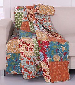 Greenland Home® Terra Blossom Quilted Cotton Throw