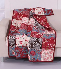 Greenland Home® Nicole Quilted Cotton Throw