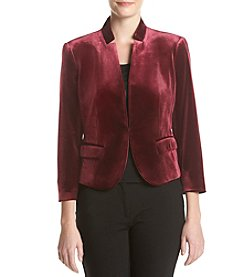 Nine West® Velvet Kiss Front Jacket