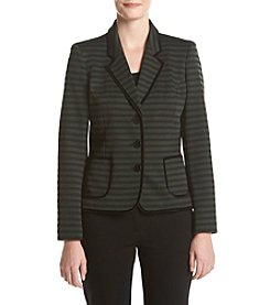 Nine West® Stripe Ponte Jacket