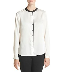 Nine West® Button Down Blouse
