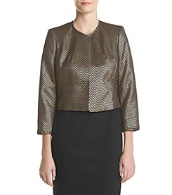 Nine West® Metallic Bolero Jacket
