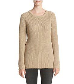 Calvin Klein® Crew Neck Lurex Sweater