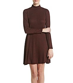 Ivanka Trump® Mock Neck Sweater Dress
