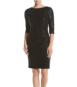 Vince Camuto® Side Ruching Dress