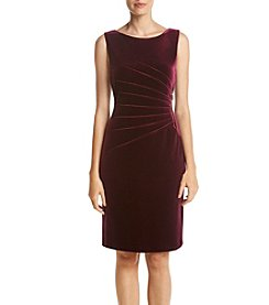 Ivanka Trump® Velvet Side Zip Dress