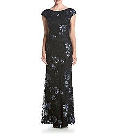 Vera Wang® Floral Maxi Dress