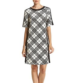 Madison Leigh® Plaid Shift Dress