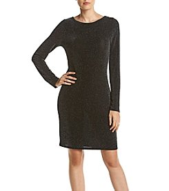MICHAEL Michael Kors® Metal Dot Boatneck Dress