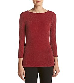 MICHAEL Michael Kors® Dot Boatneck Top