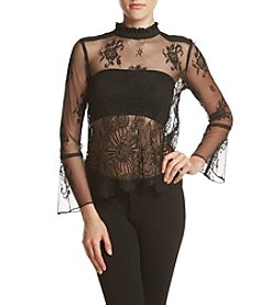 XOXO® Lace Blouse