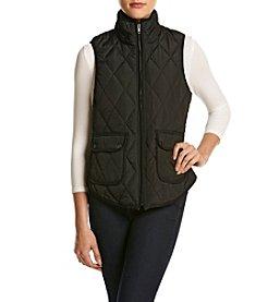 Sequin Hearts® Quilted Vest