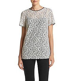 MICHAEL Michael Kors ® Lace Short Sleeve Tee