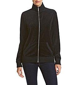 MICHAEL Michael Kors® Velour Zip-Up Jacket