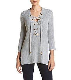 MICHAEL Michael Kors® Lace Up Front Top