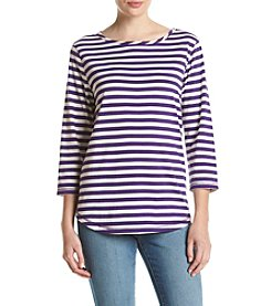 Studio Works® Striped Knit Top