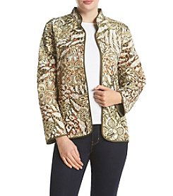 Alfred Dunner® Cactus Ranch Floral Quilt Jacket