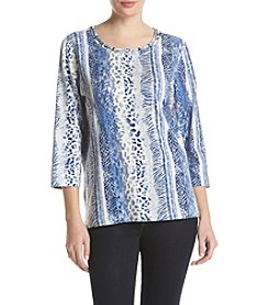 Alfred Dunner® Sierra Madre Printed Knit Top