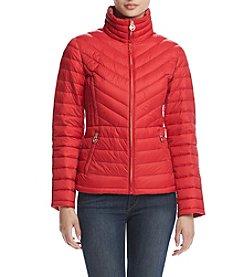 MICHAEL Michael Kors® Short Chevron Packable Coat