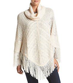 Oneworld® Cowl Neck Sweater Poncho